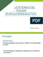 Complicaciones Del Trauma Mmesqueletico