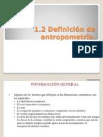 Clase 1.2 Antropometria