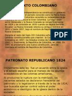 Iglesia Catolica y Estado Colombiano