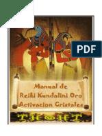 Reiki Kundalini-Oro-Cristales