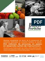 Resumen de la oportunidad 'Buen Provecho'