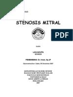 Laporan Kasus Mitral Stenosis