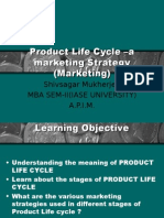 Product Life Cycle –a marketing Strategy SSM