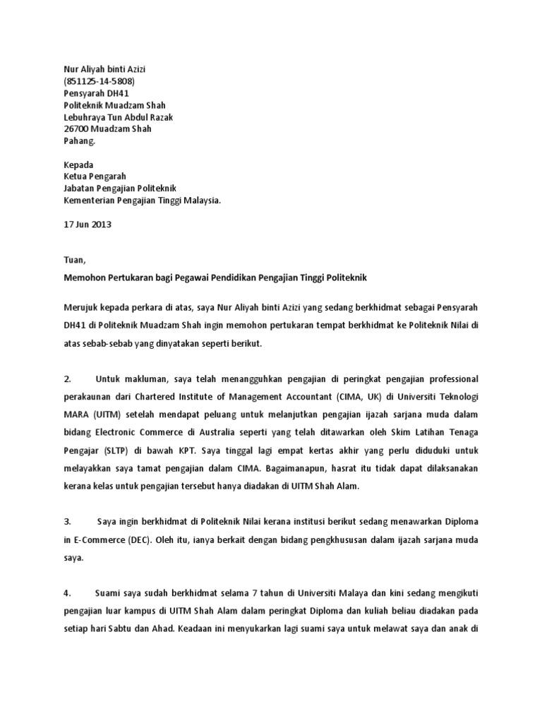 1493814825 - Contoh Surat Rasmi Pertukaran Nombor Akaun