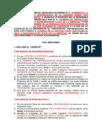 CONTRATO DE CESIÓN DE DERECHOS CELEBRAN EL C