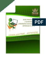Buku Panduan Elearning Unmas 2013