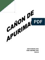 Expo Cañon De Apurimas ULTIMO