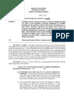 BIR Revenue Regulations 10-2013 (revised)