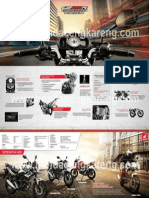 Brosur Honda CB150R StreetFire