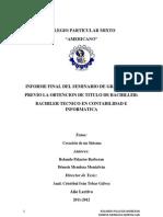 Informe Final Del Seminario