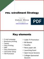 PAC Enrollment Strategy