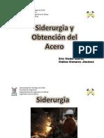 Siderurgia y obtención del acero - Eric Medel. Matías Menares