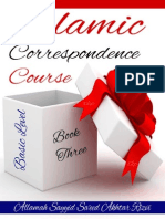 Islamic Correspondence Course Basic Level - Book 3 - Allamah Sayyid Saeed Akhtar Rizvi - Xkp