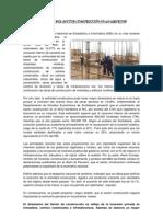 DETRACCIONES EN EL SECTOR CONSTRUCCIÓN