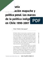 Prima Ratio. Movilización social mapuche y política penal estatal