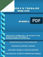 Riesgos en Trabajos Mineros
