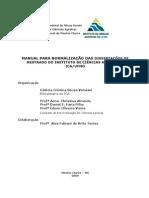Manual Normalização Dissertação ICA UFMG - 2009