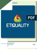 PRESENTACION ETIQUALITY