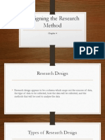 Chapter 4_Designing the Research Method