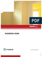 HardiFlex Walls Installation Manual