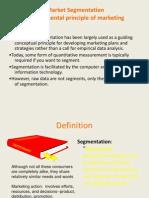 segmentation targeting