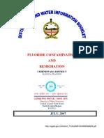 Chhindwara - Fluoride Contamination and Remediation