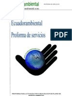 Proforma Plan Manejo Ambiental