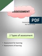 Assessment for Learning vs Assessment of Learning