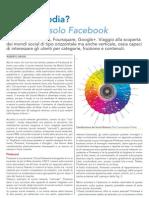 I Social Media? Non sono solo Facebook - CMI Dicembre 2012