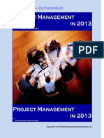 Project Management in 2013