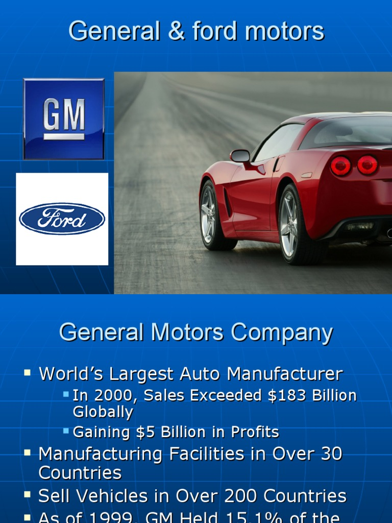 ford and gm case study