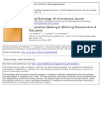 07373930600558979Mathematical Modeling of Withering Characteristics of Tea Leaves