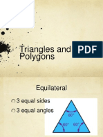 triangles and polygons