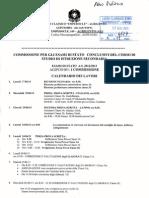 Calendario Lavori Esami Di Stato a.s. 2012-13 i Commissione
