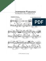 Loveridge - Rachmaninoff's Eighteenth Variation on a Theme by Paganini, Op.43.pdf