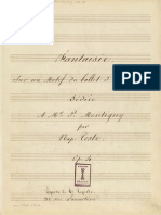 Napoleón Coste op 4, Fantaisie sur un Motif du ballet d'Armide