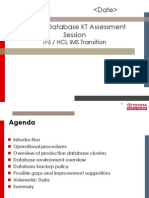 Oracle Database Assessment Draf