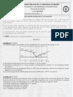 Examen Tecnologia Industrial Selectividad 2013