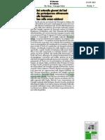 Convegno meridionali e resistenza 16/06/2013. Rassegna stampa regione Calabria. IL GIORNALE DI CALABRIA