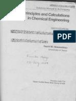 Sticho Solutions 6th Edition David M Himmelblau