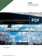 Elegance 52 - Aluminium Fassadensystem - Sapa Building System