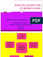 Konseling Pasien Tbc Septiani Martha Baru