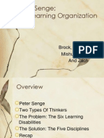 The Learning Organization Presentation