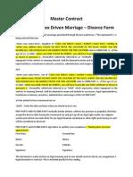 #MadrasHC - Divorce Form MadrasHC Pre-Marital Sex Marriage Document Proof Signature Joke