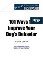 101 ways for a better dog