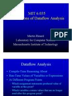 MIT Foundations of Dataflow Analysis