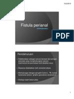 Slide Fistula Perianal