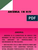 Anemia in HIV/AIDS
