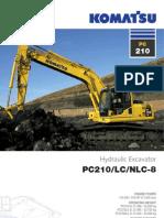 escavatot PC210-8
