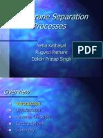 Membrane Separation Technology